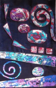 Inspired by Klimt - work in progress.