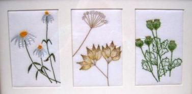 'Flower Triptych'
