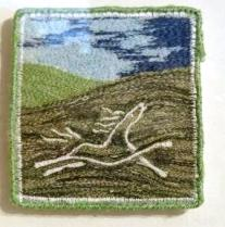 'The Folkstone Horse' Free machine embroidery.