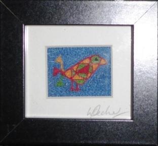 ''Angle Bird' - Quirky Bird