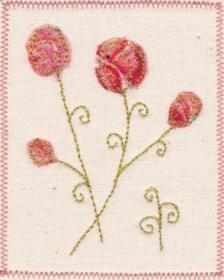 Floral - Peach